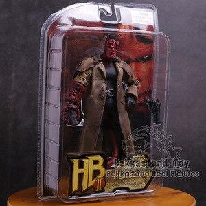 Серия HB Hellboy включает в себя Samaritan пистолет ПВХ фигурку Коллекционная модель игрушки