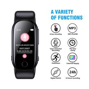 Image 2 - Savetek Fashion Polsband Armband Spraakgestuurd Mini USB Pen 8 GB Digital Audio Voice Recorder Sport Stappenteller Voor Lezingen