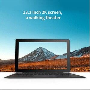 Image 3 - ALLDOCUBE Knote X Pro 13.3 بوصة 2 في 1 اللوحي 2560*1440 IPS ويندوز 10 إنتل جيميني بحيرة N4100 8 جيجابايت رام 128 جيجابايت ROM نوع C أقراص