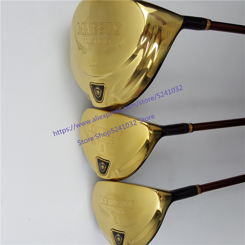 2020New Men Golf Clubs Maruman  Majesty Prestigio 9  Golf  Driver+Golf  Wood  Graphite Shaft R/S Flex