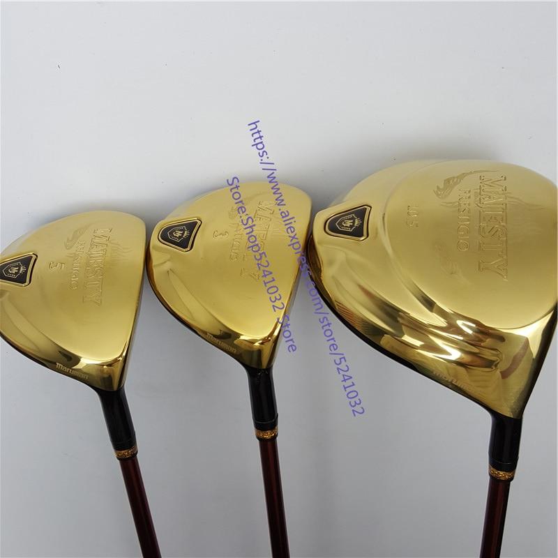 2020New Men Golf Clubs Maruman  Majesty Prestigio 9  Golf  Driver+Golf  Wood  Graphite Shaft R/S Flex