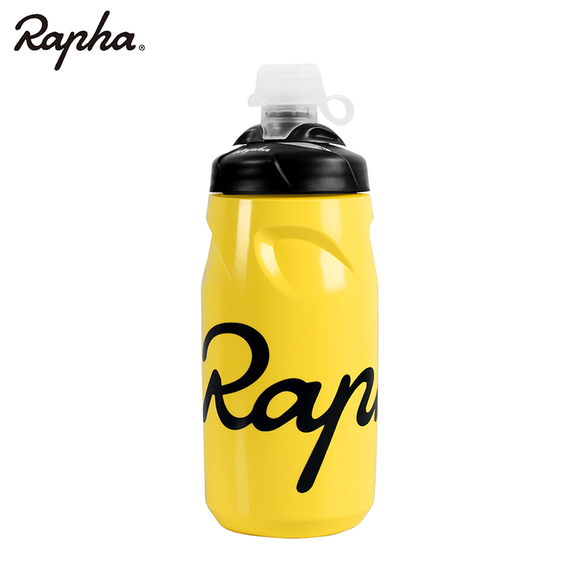 Rapha 620ML Bike Water Bottle BPA-free Leak-proof Bottle Taste-free Plastic Cycling Camping Hiking Sports Water Bottle Kettle