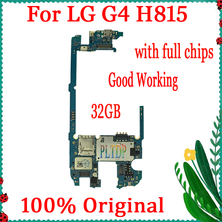 Logic board for <font><b>LG</b></font> G4 <font><b>H815</b></font> <font><b>Motherboard</b></font> with Android System,32GB 100% Original unlocked <font><b>Motherboard</b></font> for <font><b>LG</b></font> G4 <font><b>H815</b></font> ,Good Tested image