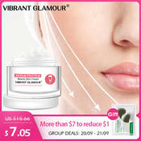 VIBRANT GLAMOUR Serum Protein Face Cream Repair Anti-Wrinkle Reduce Red Blood Anti-allergy Deep Hydration Moisturizing Skin Care