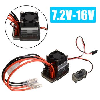 7 2V-16V 320A wysokiego napięcia ESC szczotkowany kontroler prędkości zestaw wentylator elektryczny szczotkowany silnik ESC dla RC samochodów akcesoria do samochodów ciężarowych tanie i dobre opinie Mayitr CN (pochodzenie) Z tworzywa sztucznego Baterii Adapter Regulatory prędkości 1 Size Wartość 2 320A Speed Controller