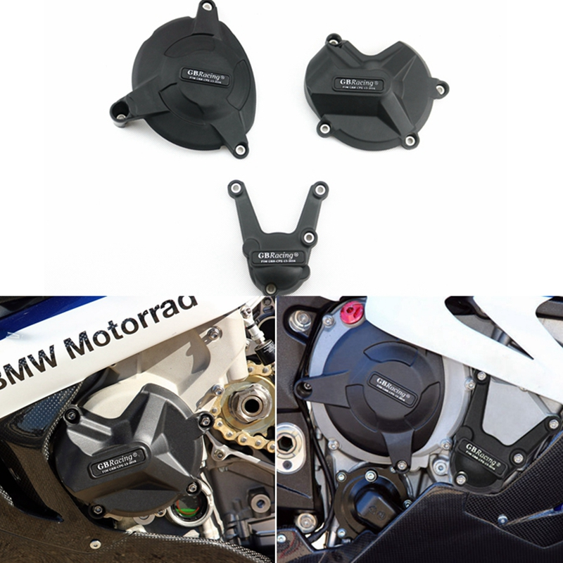 Motorcycles Engine Cover Protection Case For Case GB Racing For BMW HP4 S1000RR S1000R 2009-2016 Engine Covers Protectors