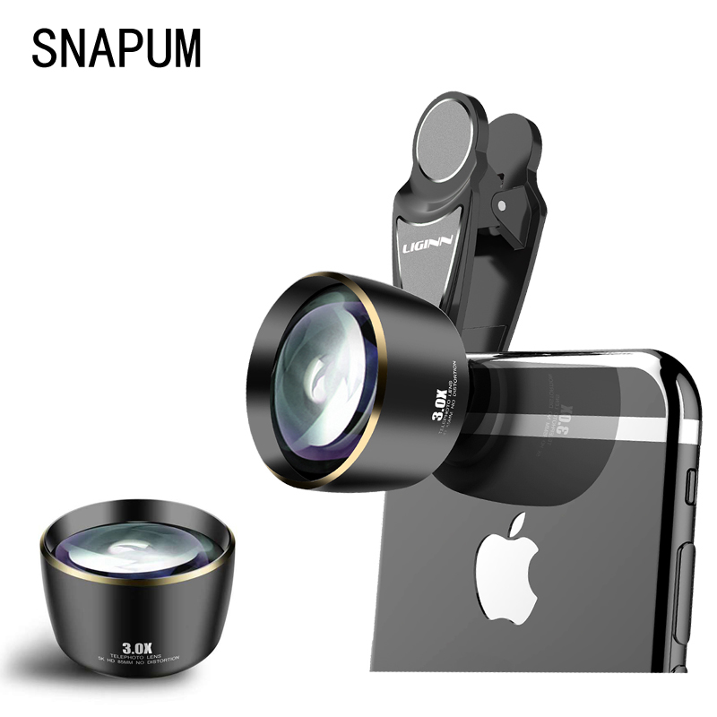 DISTORTIONLESS 3X telephone telescope HD PORTRAIT LENS FOR ALL SMARTPHONES image
