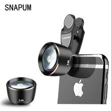 Vervormingvrije 3X Telefoon Telescoop Hd Portret Lens Voor Alle Smartphones