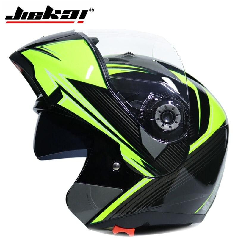 Free shipping motorcycle Helmet JIEKAI 105 motorbike helmet double lens helmet V