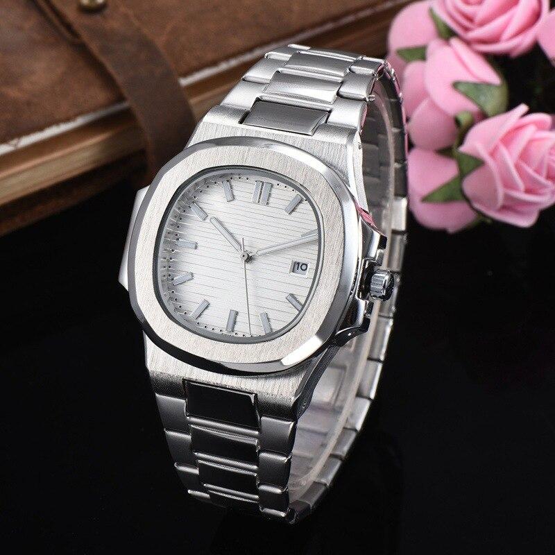 2020 New Watch Top Luxury Alloy Japan Quartz Wristwatch Silver Quartz Watch aaa Watches(China)