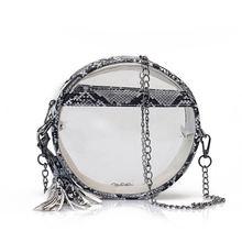 Дизайнерская роскошная сумка для женщин сумки прозрачная ведро