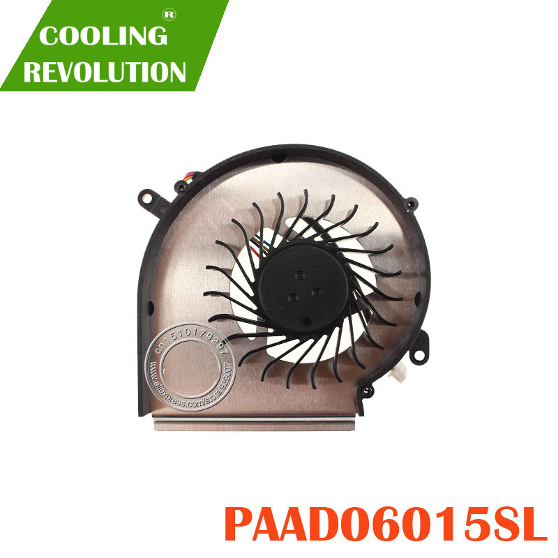 COOLING REVOLUTION FOR MSI GE62VR GL62M GPU COOLING FAN PAAD06015SL N371