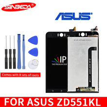 купить Original 5.5 LCD For ASUS Zenfone Selfie ZD551KL LCD Display Touch Screen with Frame Digitizer Assembly for Zenfone ZD551KL LCD дешево