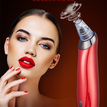 Face Skin Care Pore Cleaning Vacuum Blackhead Remover Acne Pimple Removal Beauty Healthy Suction Tool Derm Abrasion Machine