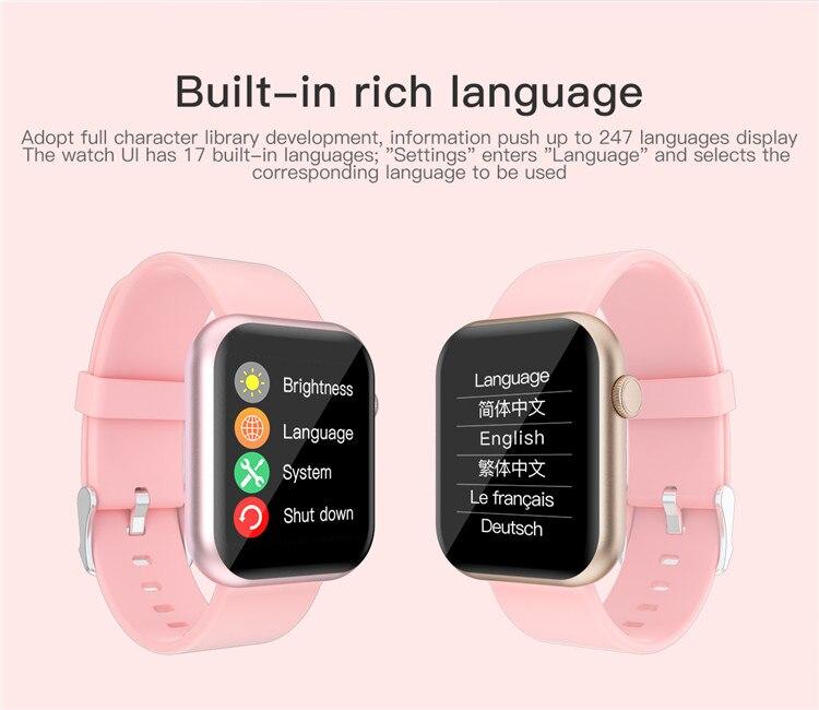 Hc66c2c1edb3a475db9db1f2be993b81ai Oxygen Monitor Smart Watch 2020 Blood Pressure Smartwatch