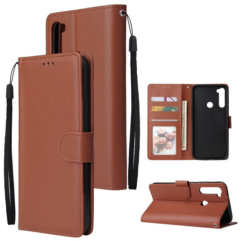 Leather Wallet Case Flip Cover for Xiaomi Redmi Note 8 7 6 5 4 Pro 8A7A 6A 5A 4X 5X 5 Plus Protect Cover 6