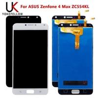 LCD Display Für ASUS Zenfone 4 Max ZC554KL LCD Display Digitizer Screen Komplette Montage-in Handy-LCDs aus Handys & Telekommunikation bei