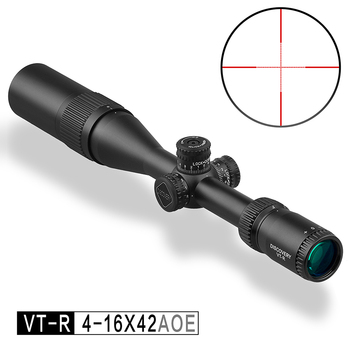 Discovery VT-R 4-16X42 AOE Hunting Scope R&G Illuminated Mil Dot Reticle Tactical Riflescope Lock Reset Sights Fit Airsoft Gun image