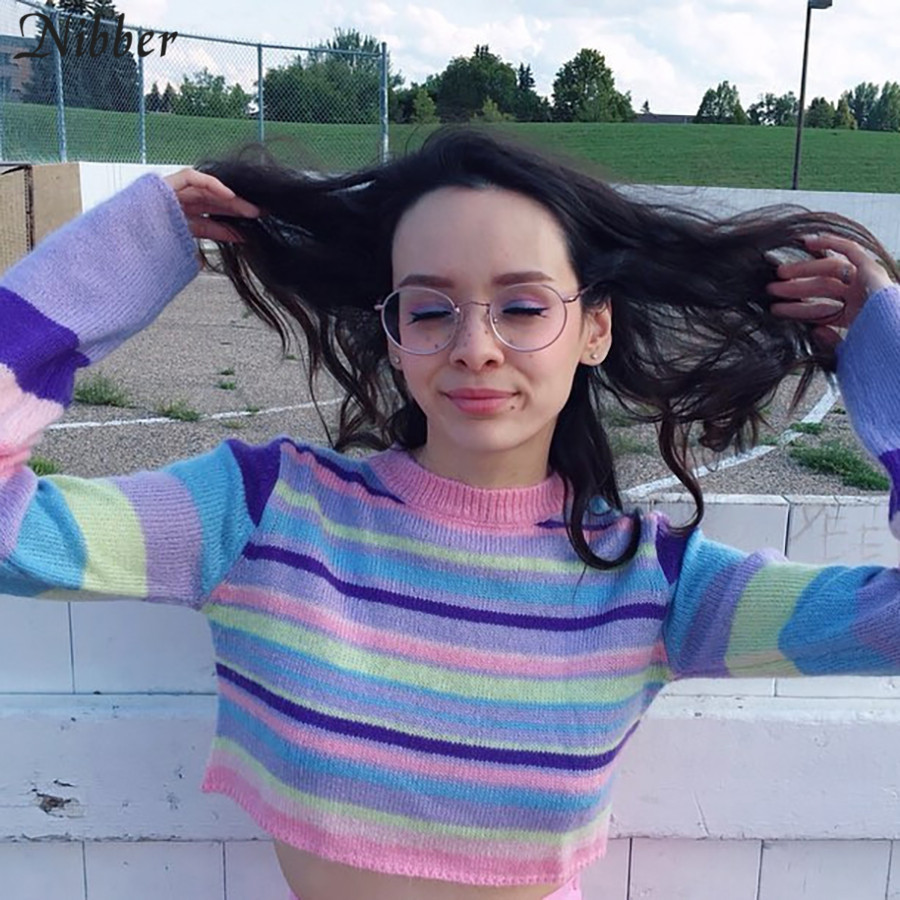 Colorful Pastel Sweater 1
