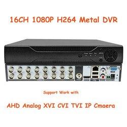 Xmeye 16CH 1080P DVR система видеонаблюдения CCTV Гибридный рекордер для XVI аналоговый AHD CVI TVI IP Onvif P2P камера для домашней безопасности
