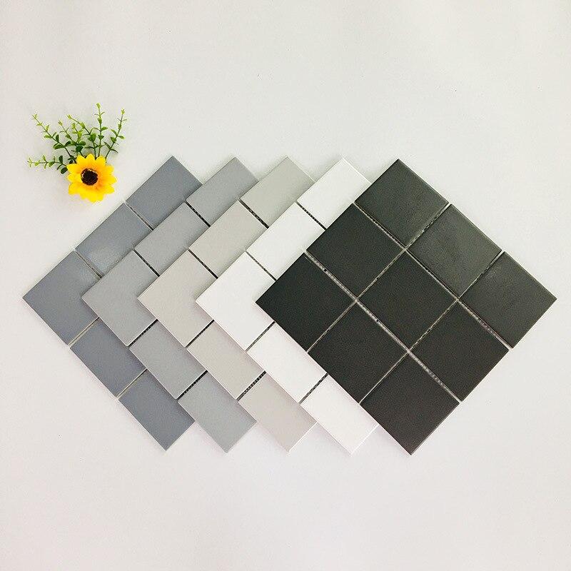 Идеальный цвет полностью керамический судоку мозаичный, керамический бассейн 300X300 Кухня Водонепроницаемый кирпич детский сад