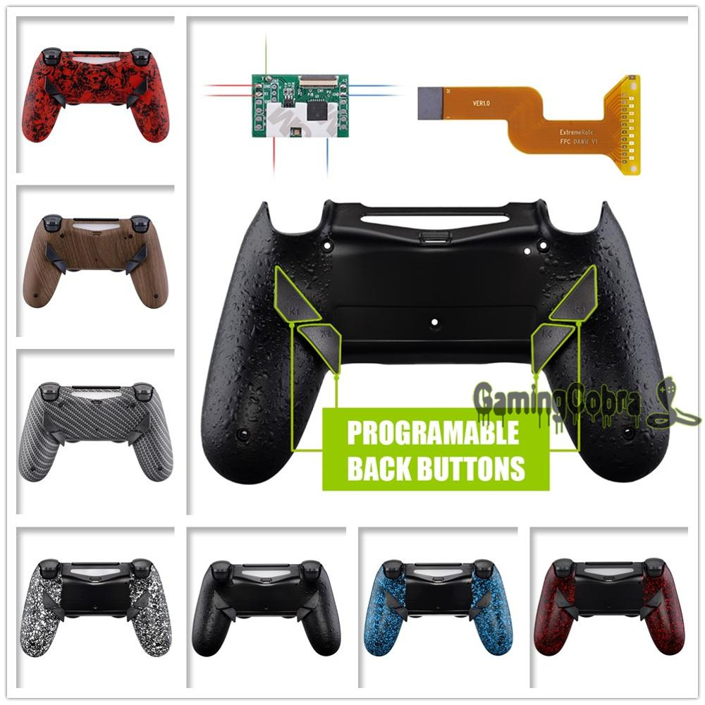 Dawn Programable Remap Kit For PS4 Slim Pro Controller JDM 040/050/055 W/ Back Shell & 4 Back Buttons