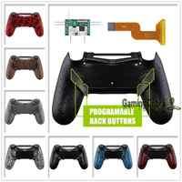 Dawn Programmierbare Remap Kit für PS4 Schlank Pro Controller JDM 040/050/055 w/Zurück Shell & 4 zurück Tasten