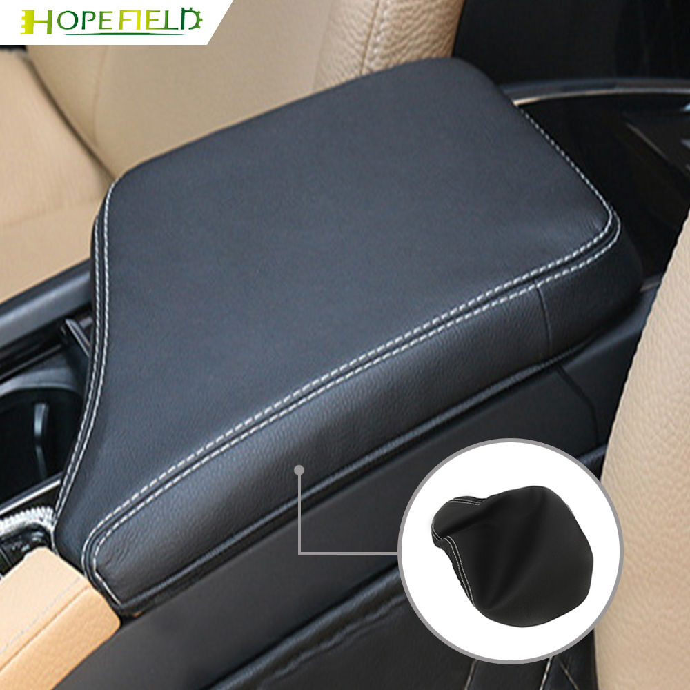Car PU Leather Center Console Seat Box Pad Armrest Cover Protective Cushion for Volvo S90 V90 XC90 XC60 S60 V60
