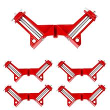 4 PCS Rugged 90 Degree Right Angle Clamp DIY Corner Clamps Quick Fixed Fishtank Glass Wood Picture Frame Woodwork