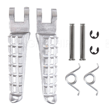 цена на 796 Motorcycle For DUCATI Monster 796 2009 2010 2011 2012 2013 2014 Ducati Aluminum New Front and Rear Pedal