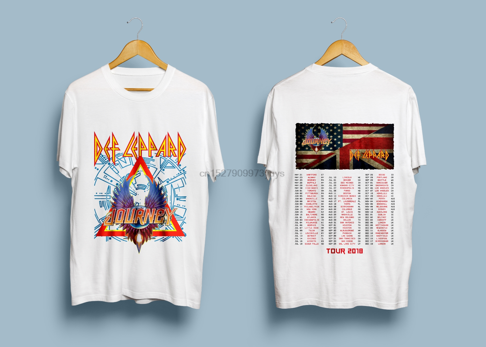 Dif Leppad & Journey Tour 2018 T-Shirt