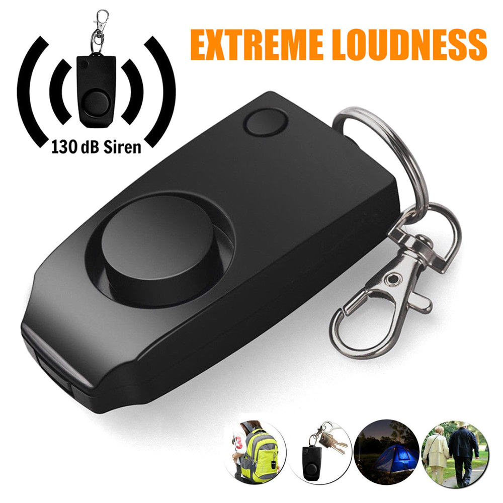 Anti-rape Self Defense Device Alarm Extreme Loud 130dB Alert Keychain Safety Personal Security for Women Children