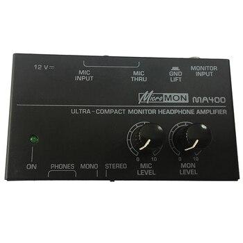 Ma400 Fone De Ouvido Pré-amplificador Microfone Pré-amplificador Fone De Ouvido Monitor Pessoal Mixer, Plugue Da Ue