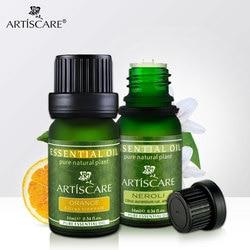 ARTISCARE Brighten and Anti Wrinkle SET Moisturizing and Whitening Skin Care Neroli essential oil & Sweet Orange essentials 2pcs