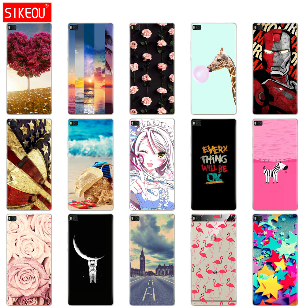 cover for <font><b>Huawei</b></font> P8 GRA UL00 L09 L03 L13 case 2015 2016 silicone soft coque for <font><b>Huawei</b></font> P 8 lite <font><b>PRA</b></font> <font><b>LX1</b></font> LA1 phone bag image