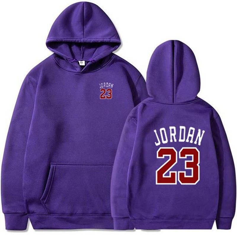 Модные брендовые мужские худи Jordan 23 на весну и осень, мужские повседневные толстовки, одноцветные кофты, 2020