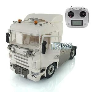 LESU 1/14 Metal 4*4 Scania Chassis Sound Hercules Cabin RC Tractor Truck Radio THZH0985