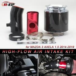 R-EP tubo de entrada de aire frío de alto flujo para Mazda 3 Axela 1500cc con reemplazo de filtro de aire RP-D002 de alta potencia