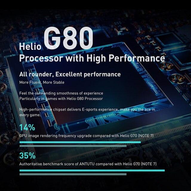 Global Version Infinix Note 8 Smart Phone 6GB RAM 128GB ROM 6.95 Inch HD+ Display 5200mAh 18W Fast Charge Mobile X692-K 2