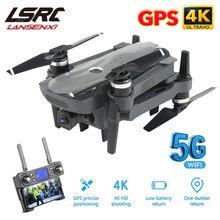 Lsrc k20 zangão gps 5g hd 4k câmera profissional 1800m transmissão de imagem motor sem escova dobrável quadcopter rc dron brinquedo presente
