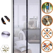 Kitchen Curtain Anti-Mosquito Door-Screen Magnetic-Net Insect Closing Summer Bug Fly