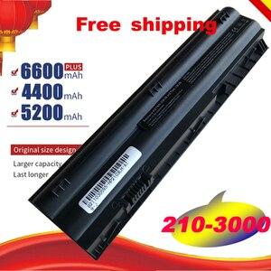 Image 1 - HSW 6Cells Laptop Battery For HP Mini 210 3000 1104 2103 2104 3115m DM1 4000 HSTNN DB3B 646757 001 HSTNN LB3B