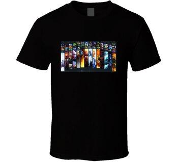 Hombres camiseta defensa de los ancestros Dota 2 héroes T camisa camiseta mujer t camisa