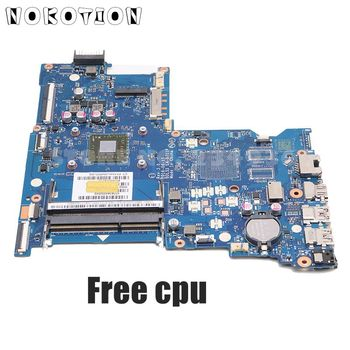 NOKOTION 858589-601 85858-001 MAIN BOARD For HP 255 G5 15-BA Laptop Motherboard BDL51 LA-D711P DDR3 with processor onboard