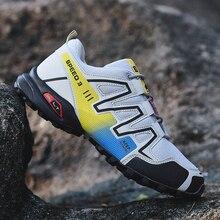 Trekking Shoes Trail Outdoor Mountain-Walking-Sneakers New Fashion Lightweight Men Designer
