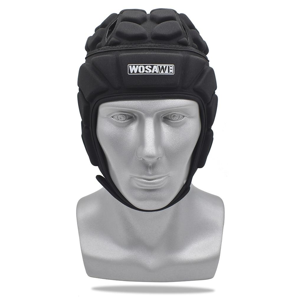 Pro Helmet EVA Shock-proof Headgear for Rugby Flag Football Soccer Goalkeeper & Goalie Unisex Goalkeeper Helmet for Adult