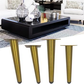 Nogi do stolika na kawę meble ze stali nierdzewnej stojak na nogi ławki biurko noga akcesoria domowe tanie i dobre opinie AIHOME Z tworzywa sztucznego Ekologiczne Filar Stainless Steel Furniture Legs
