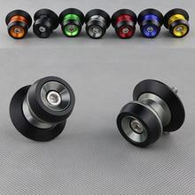Soportes deslizantes de aluminio CNC para motocicleta, para BMW S1000RR, HP4, S1000R, S1000XR, accesorios para motocicleta, tornillos de bobinas