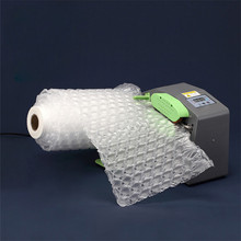 Buffer Inflatable Bag Air Cushion Machine Filled Bag Gourd Film  Shockproof Roll Film Automatic Packing Tools Bubble Film 300M