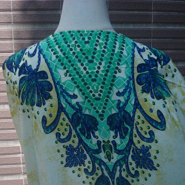 Cotton Long Beach Dress Robe de Plage Swimwear Women Cover ups Tunic Pareo Beach Cover up Kaftan Beach Saida de Praia Beachwear 8